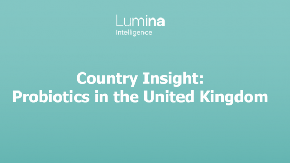 Country Insight: Probiotics in the United Kingdom