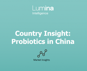 Lumina Intelligence China Probiotics