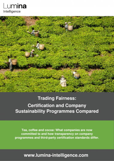 Trading fairness - Certification and company sustainability programmes compared