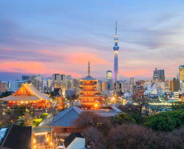 Japan Tokyo skyline