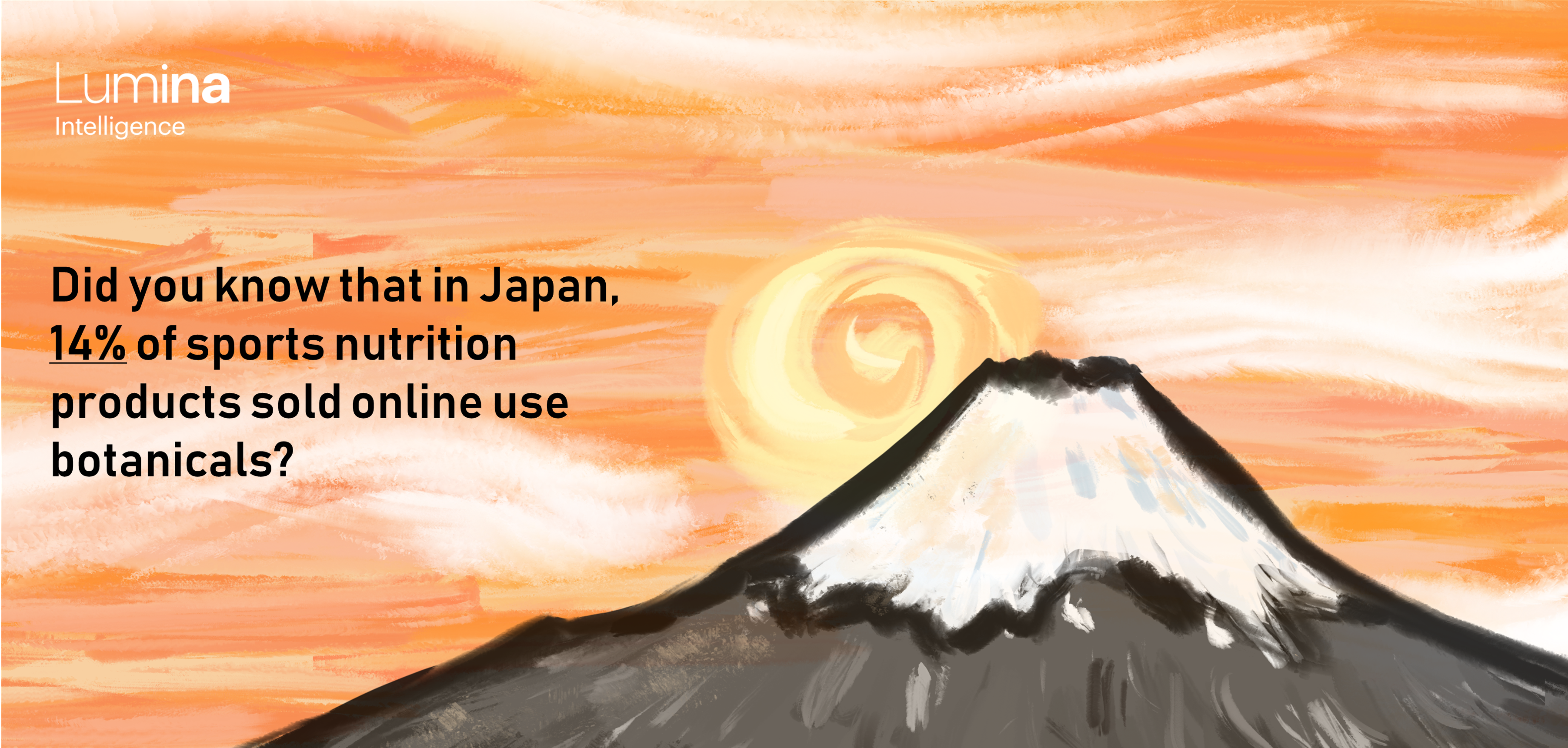 Sports nutrition japan infographic botanicals
