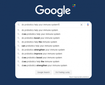 Immunity google searches