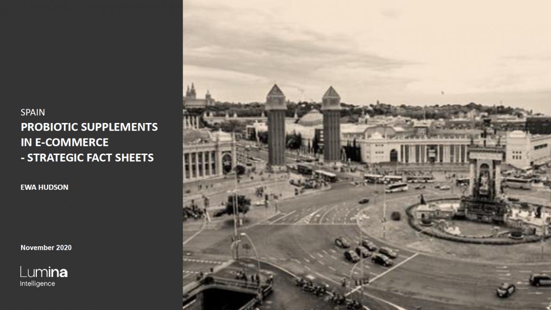 Spain probiotics report title slide