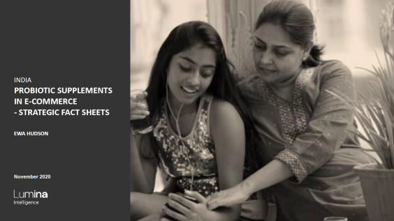 India report title slide