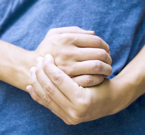 Office syndrome hand pain by occupational disease